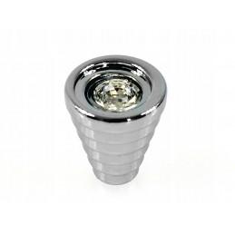 AMIX GKS003 Gałka z kryształem, chrom