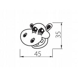"""Amix """"CLG-607M"""" Segregator na śmieci. Niski. Z mocowaniami frontu. 2 pojemniki"""