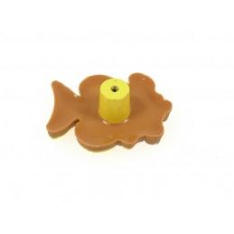 """REJS """"JC609M-4"""" Segregator na śmieci. Wysoki. Z mocowaniem frontu. 4 pojemniki"""