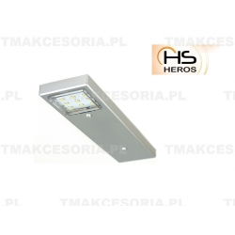 HEROS OPRAWA LAMPA PODSZAFKOWA LED 2,5W 12V LPLW-2 NOTOS