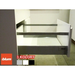 "BLUM TANDEMBOX BOK ANTARO, 400 mm, WYSOKI (BOK ""M"" 83mm) + RELING 3 KOLORY"