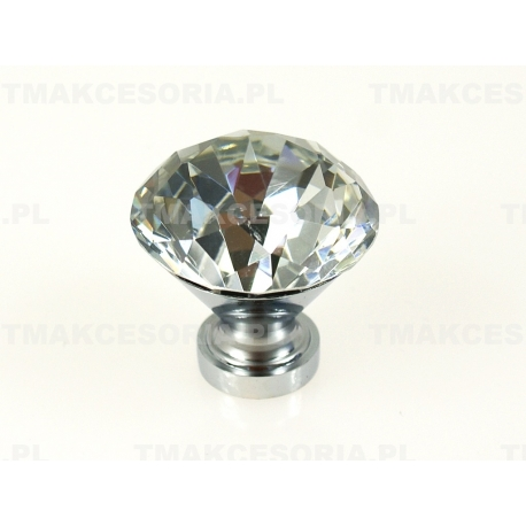 Gałka z kryształem GKS002-30 AMIX