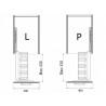 AMIX GKS002-30 Gałka z kryształem