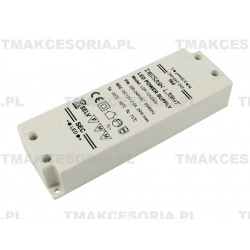 TRANSFORMATOR 12V 24W 200-240V DO TAŚM LAMP LED