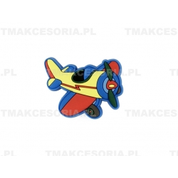 Samolot - gałka silikonowa, dziecięca