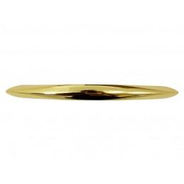 GTV B224 Uchwyt wpuszczany, metalowy, biały połysk