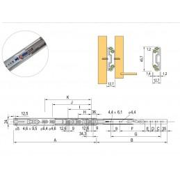 DL51 OPRAWA LAMPA LED 2,4W PODSZAFKOWA OZDOBNA