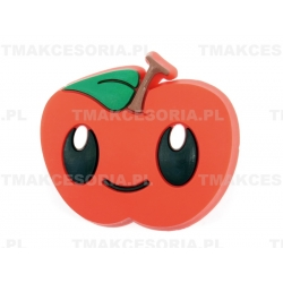 Jabłko  - gałka silikonowa, dziecięca