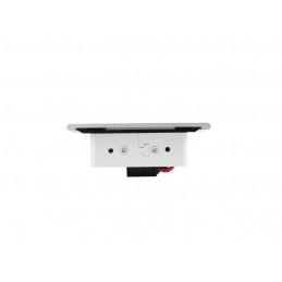 GTV B224 Uchwyt wpuszczany, metalowy, czarny matowy