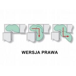 Krokodyl - gałka silikonowa, dziecięca